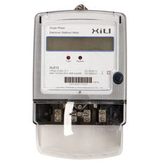 Din rail type digital watt hour meter / KWH meter with reset function