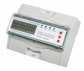 Multi Function 3 Phase DIN Rail Kwh Meter RS485 with LCD display
